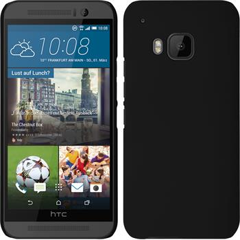 Hardcase for HTC One M9 rubberized black