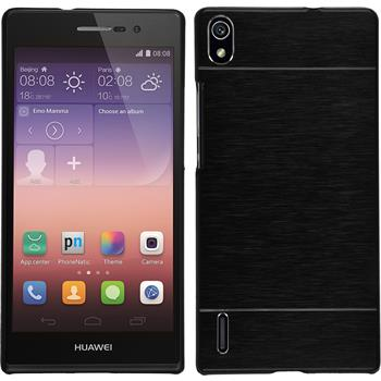 Hardcase for Huawei Ascend P7 metallic black