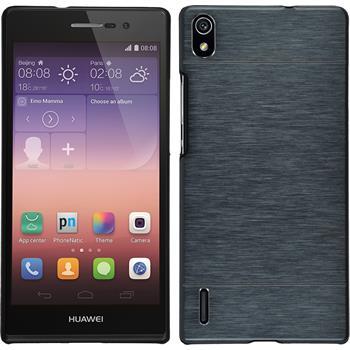 Hardcase for Huawei Ascend P7 metallic gray