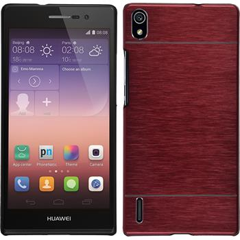 Hardcase for Huawei Ascend P7 metallic red