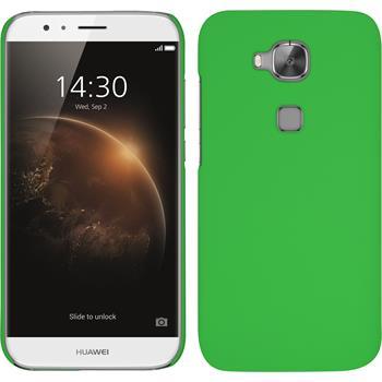 Hardcase for Huawei G8 rubberized green