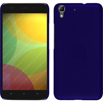 Hardcase for Huawei Honor 4A rubberized blue