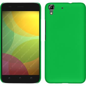 Hardcase for Huawei Honor 4A rubberized green