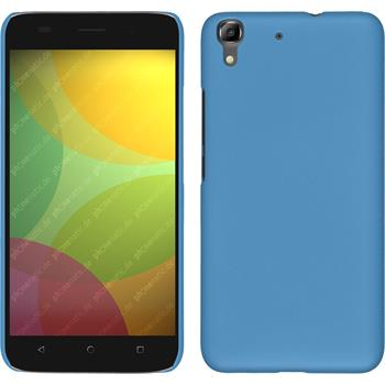 Hardcase for Huawei Honor 4A rubberized light blue