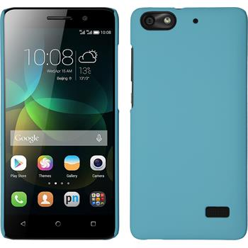Hardcase for Huawei Honor 4c rubberized light blue