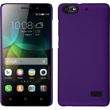 Hardcase for Huawei Honor 4c rubberized purple