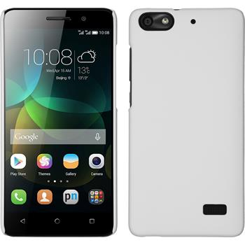 Hardcase for Huawei Honor 4c rubberized white