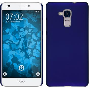Hardcase for Huawei Honor 5C rubberized blue