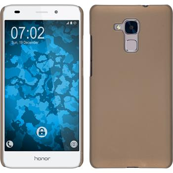 Hardcase for Huawei Honor 5C rubberized gold