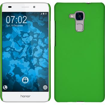 Hardcase for Huawei Honor 5C rubberized green