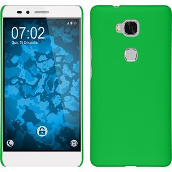 Hardcase for Huawei Honor 5X rubberized green
