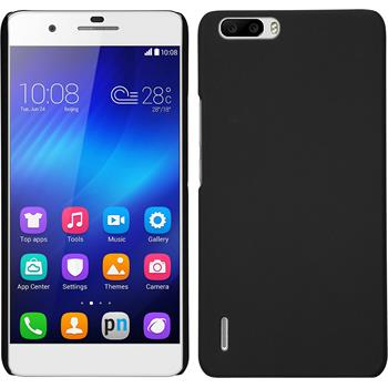 Hardcase for Huawei Honor 6 Plus rubberized black