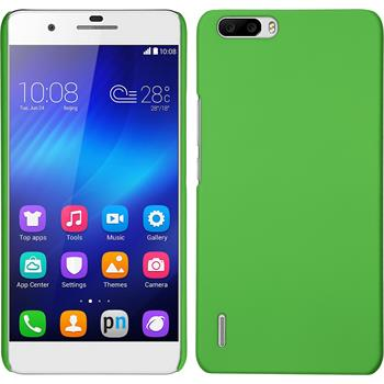 Hardcase for Huawei Honor 6 Plus rubberized green