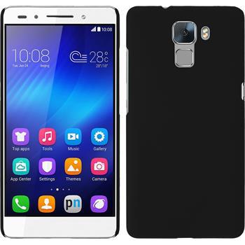 Hardcase for Huawei Honor 7 rubberized black