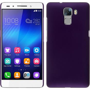 Hardcase for Huawei Honor 7 rubberized purple