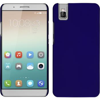 Hardcase for Huawei Honor 7i rubberized blue