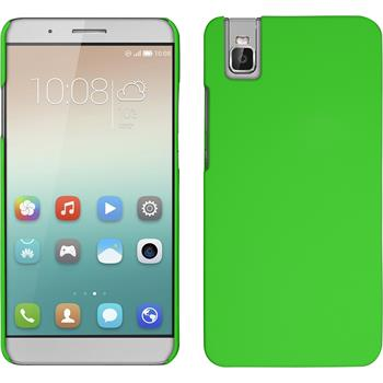 Hardcase for Huawei Honor 7i rubberized green