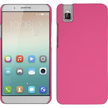 Hardcase for Huawei Honor 7i rubberized hot pink