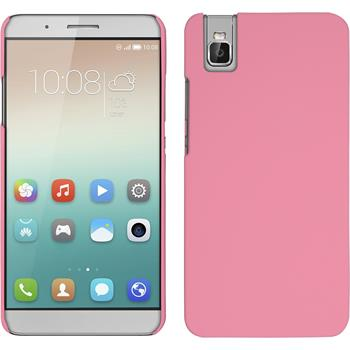 Hardcase for Huawei Honor 7i rubberized pink