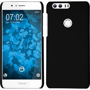 Hardcase for Huawei Honor 8 rubberized black