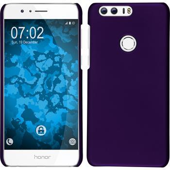 Hardcase for Huawei Honor 8 rubberized purple