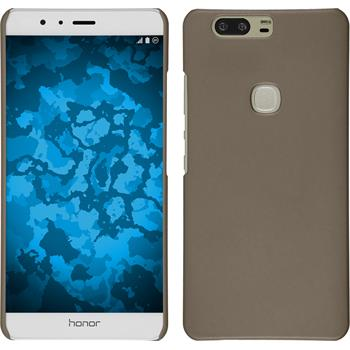 Hardcase for Huawei Honor V8 rubberized gold