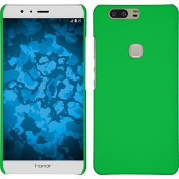 Hardcase for Huawei Honor V8 rubberized green