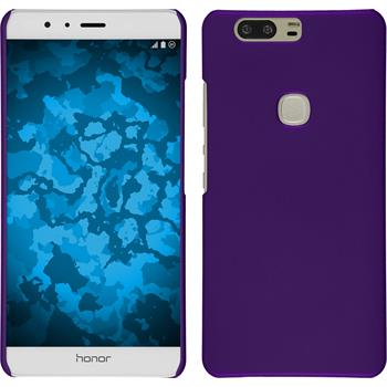 Hardcase for Huawei Honor V8 rubberized purple