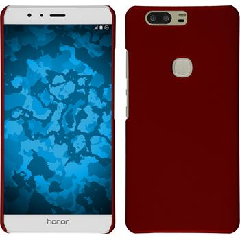 Hardcase for Huawei Honor V8 rubberized red
