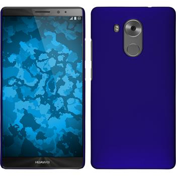 Hardcase for Huawei Mate 8 rubberized blue