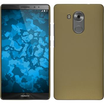 Hardcase for Huawei Mate 8 rubberized gold