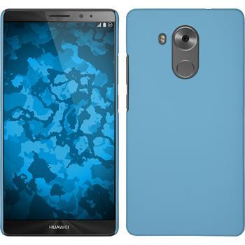 Hardcase for Huawei Mate 8 rubberized light blue