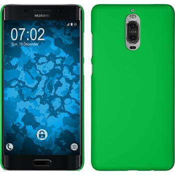 Hardcase Mate 9 Pro rubberized green