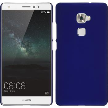 Hardcase for Huawei Mate S rubberized blue