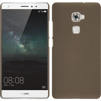 Hardcase for Huawei Mate S rubberized gold