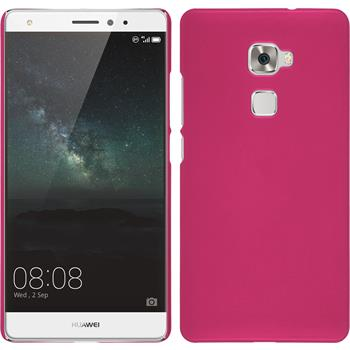 Hardcase for Huawei Mate S rubberized hot pink