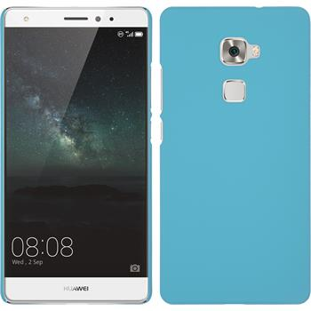 Hardcase for Huawei Mate S rubberized light blue