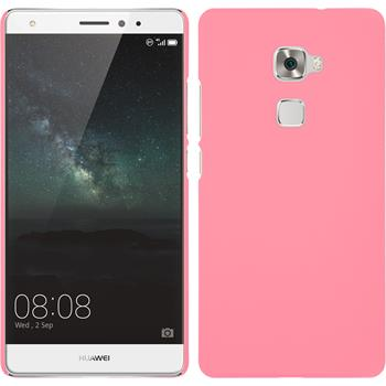 Hardcase for Huawei Mate S rubberized pink