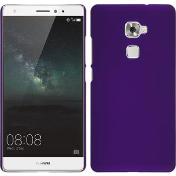 Hardcase for Huawei Mate S rubberized purple