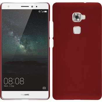 Hardcase for Huawei Mate S rubberized red