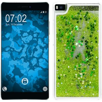 Hardcase for Huawei P8 Stardust green
