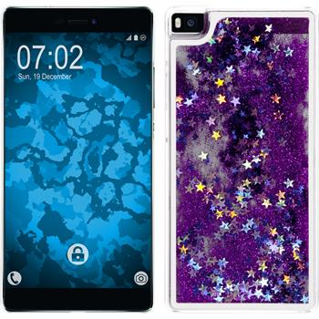 Hardcase for Huawei P8 Stardust purple