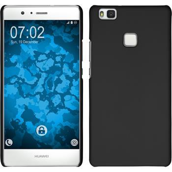Hardcase for Huawei P9 Lite rubberized black