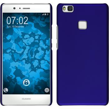Hardcase for Huawei P9 Lite rubberized blue