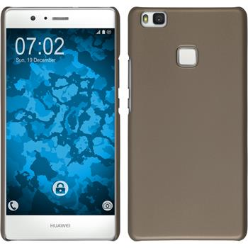 Hardcase for Huawei P9 Lite rubberized gold