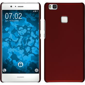 Hardcase for Huawei P9 Lite rubberized red