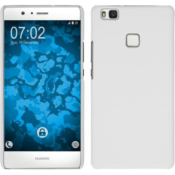 Hardcase for Huawei P9 Lite rubberized white