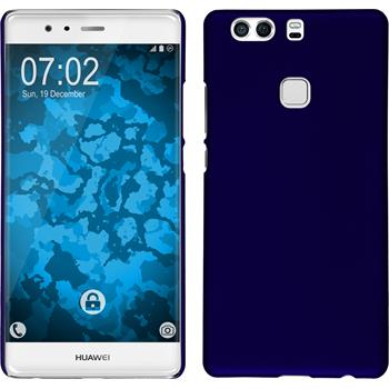 Hardcase for Huawei P9 Plus rubberized blue