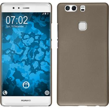 Hardcase for Huawei P9 Plus rubberized gold