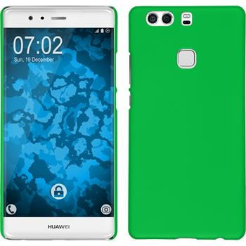 Hardcase for Huawei P9 Plus rubberized green